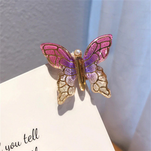 Crystal Butterfly Clip