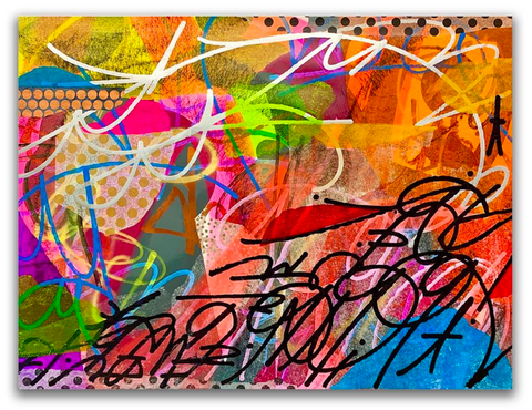 JM Rizzi, Abstract Expressionism, Raise Karma, Art Collective