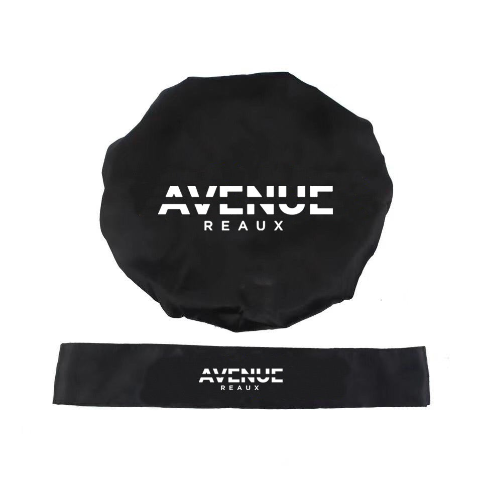 Premium Bonnet Set Black