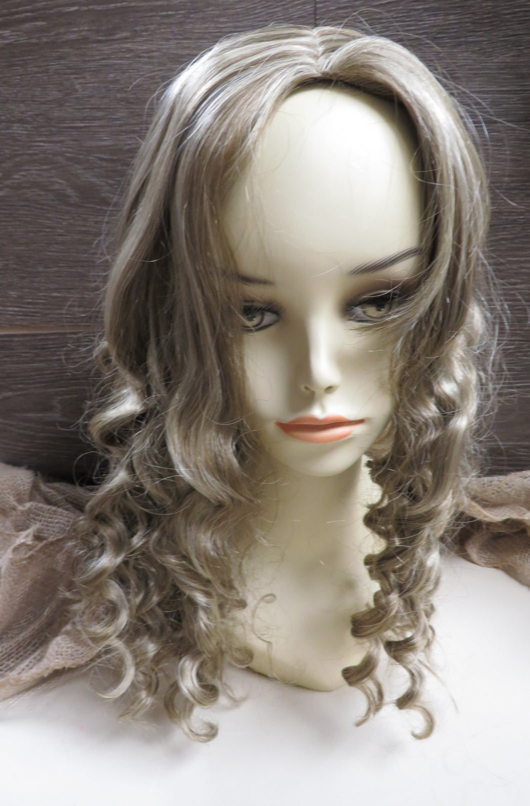 Synthetic Fiber Wigs- Average Hair