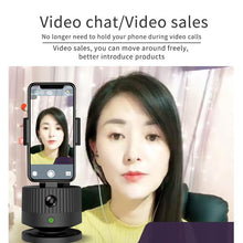 Load image into Gallery viewer, Face follow-up, 360-degree intelligent smart live broadcast device - SaturnLoop Shops Sales