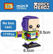 Load image into Gallery viewer, LOZ Toy Story Buzz Light year Woody Toys Model Mini Building Blocks Brick Heads Action Figure For Age 6+ - SaturnLoop Shops Sales