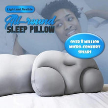 Load image into Gallery viewer, All-round Sleep Pillow-3D Pillow Ergonomic Memory Foam Pillow Washable Travel Neck Particle Pillow 3D Pillow Sleep Cushion Micro Airballs Filling - SaturnLoop Shops Sales