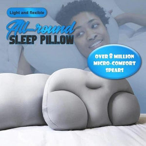 All-round Sleep Pillow-3D Pillow Ergonomic Memory Foam Pillow Washable Travel Neck Particle Pillow 3D Pillow Sleep Cushion Micro Airballs Filling - SaturnLoop Shops Sales
