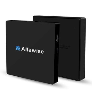 Alfawise S92 TV Box Android 6.0 OS Amlogic S912 Octa-core VP9-10 H.265 Decoder Support 2.4G + 5.8G Dual Band WiFi Bluetooth 4.0 Multi-media Player - SaturnLoop Shops Sales