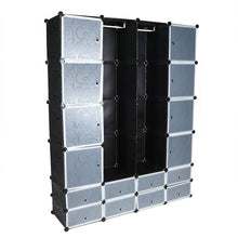 Load image into Gallery viewer, Multi-use 24 Cube Clothes Closet Modular Wardrobe - SaturnLoop Shops Sales