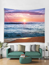 Load image into Gallery viewer, Sunset Beach Print Wall Hanging Tapestry - SaturnLoop Shops Sales