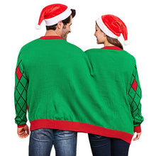 Load image into Gallery viewer, Siamese Christmas Sweater Pullover Round Neck Long Sleeve - SaturnLoop Shops Sales