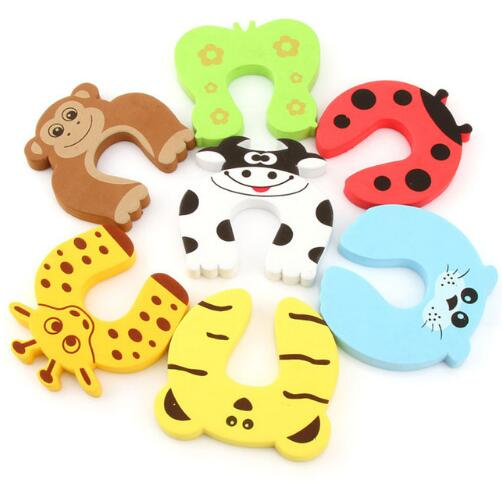 Baby Safety Cute Animal Security Card Door Stopper - SaturnLoop Shops Sales