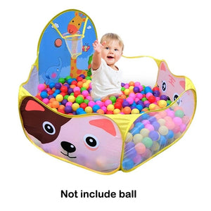 Foldable Children's Toys Tent For Ocean Balls Kids Play Ball Pool Outdoor Game Large Tent for Kids Children Ball Pit
