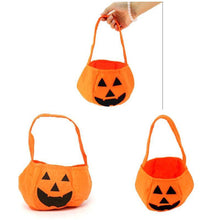 Load image into Gallery viewer, Halloween Party Supplies Non-woven Fabrics Pumpkin Bags - SaturnLoop Shops Sales