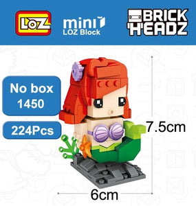 LOZ Buzz Light year Woody Snow White Pinocchio Toys Model Mini Building Blocks Brick Head Figure For Age 6+ - SaturnLoop Shops Sales