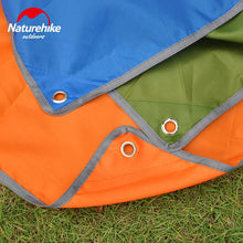 Load image into Gallery viewer, NatureHike  2.15*1.5M Tent Mat Silver Coated Tarp Tent Gazebo Sun Shade  Blue Orange Green Outdoor