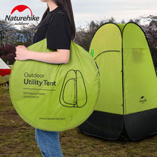 Load image into Gallery viewer, Naturehike Quick Automatic Opening Washing Toilet Tent Fishing Restroom Portable Outdoor Tent NH17Z002-P
