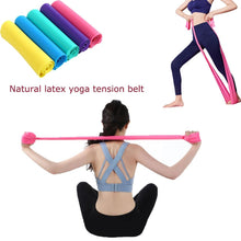 Load image into Gallery viewer, 2019 Hot Gym Fitness Equipment hacer ejercicios StrengthTraining Latex Elastic Resistance Bands Workout Yoga Rubber Loops Sport - SaturnLoop Shops Sales