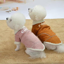 Load image into Gallery viewer, Cute Dog Jacket Winter Warm Puppy Dog Clothes Thickening Fleece Pet Outfits Coat For Small Dogs Chihuahua Bichon Pets Clothing - SaturnLoop Shops Sales