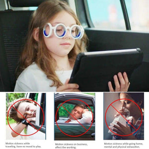 Outdoor glasses, anti-sports disease, glasses, smart halo, airsickness, liquid, removable folding, portable illness safety frame - SaturnLoop Shops Sales
