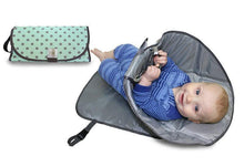 Load image into Gallery viewer, 3 in 1 Diaper Clutch Changing Station and Diaper-Time Playmat With Redirection Barrier  Camera bag - SaturnLoop Shops Sales