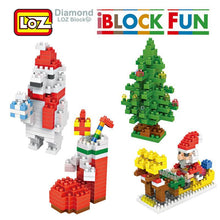 Load image into Gallery viewer, LOZ Building Blocks Santa Claus Christmas Stockings Christmas tree Polar Bear for Children 9+ - SaturnLoop Shops Sales
