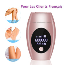 Load image into Gallery viewer, 600000 Flash Professional Permanent Laser Epilator LCD Display Laser IPL Hair Removal Machine Photoepilator Painless Depilador