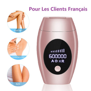 600000 Flash Professional Permanent Laser Epilator LCD Display Laser IPL Hair Removal Machine Photoepilator Painless Depilador