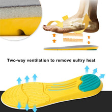 Load image into Gallery viewer, 1Pair Outdoor Men Women Deodorize Foot Care Shoe Pad Can Be Cut Orthotic Memory Foam Sports Insoles Reusable Mountaineering - SaturnLoop Shops Sales