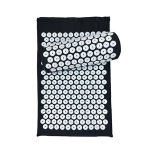 Acupressure Massager Mat Relieve Stress Pain Yoga Mat Natural Relief Stress Tension Body Massage Pillow Cushion - SaturnLoop Shops Sales