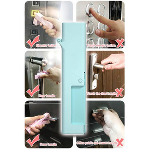 Small Artifact Disinfection Door Opening Tool Reusable Door Opener Toy Epidemic Products Gloves instead Personal Care Anti-virus - SaturnLoop Shops Sales