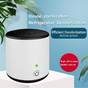 Mini Portable Ozone Generator Air Purifier Ionizer Cleaner Remover Odour Cigarette Smell Bacteria Fridge Car Cabinet - SaturnLoop Shops Sales