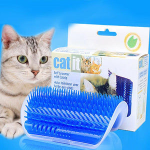 Self-massage Brush For Cats Self Groomer With Catnip Included Pet Brush Massage Comb Cat Itching Device Cat Toys AT14 - SaturnLoop Shops Sales
