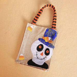 Halloween Carrier Bag Pumpkin Ghost Pattern Bag Candy Gift Holder Shopping Bags - SaturnLoop Shops Sales