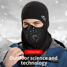 Load image into Gallery viewer, Winter Cycling Mask Thermal Keep Warm Windproof Half Face Sport Mask Balaclava Skiing Running Snownboard Hat Headwear - SaturnLoop Shops Sales