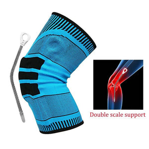 Outdoor Sports Knee Support Sleeve Basketball Running Support Protection Pad Cushion Basketball Compression Protection Leg - SaturnLoop Shops Sales