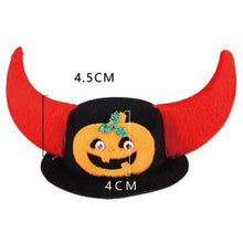 Load image into Gallery viewer, Halloween Pet Dog Cat Cute Santa Snowman Bat Head Elk Horn Headdress Hat Cap - SaturnLoop Shops Sales