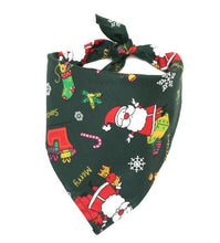 Load image into Gallery viewer, Christmas Pet Dog Bandana Small Large Dog Bibs Towel Scarf Halloween Pumpkin Printing Puppy Pet Grooming Costume Accessories - SaturnLoop Shops Sales