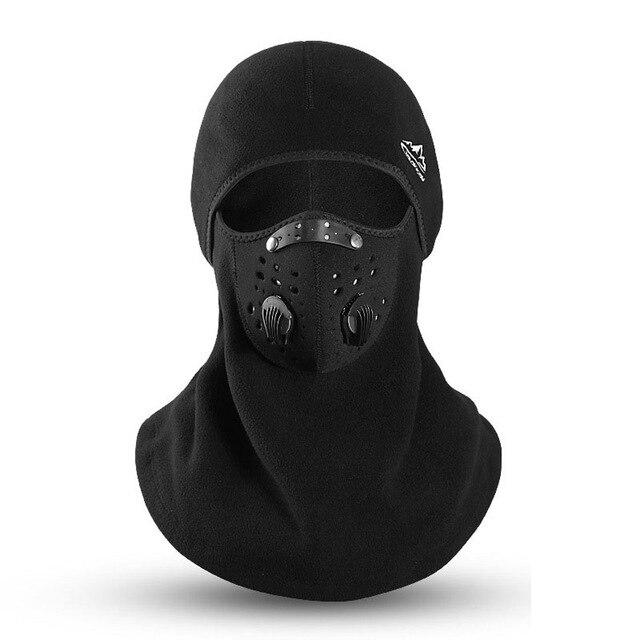 Winter Cycling Mask Thermal Keep Warm Windproof Half Face Sport Mask Balaclava Skiing Running Snownboard Hat Headwear - SaturnLoop Shops Sales