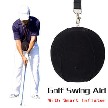 Load image into Gallery viewer, New Golf Swing Trainer Ball With Golf Smart inflatable Assist Posture Correction Training For Golfers - SaturnLoop Shops Sales