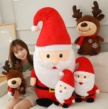 Load image into Gallery viewer, Cute Santa Claus Plush Doll Toy Soft Filled Plush Animal Pillow Plush Doll Child Birthday Gift - SaturnLoop Shops Sales