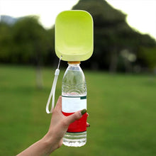 Load image into Gallery viewer, Portable Pet Dogs Water Bottle For Small Large Dogs Travel Puppy Cat Drinking Bowl Outdoor Pet Feeder Dispenser Pet Product - SaturnLoop Shops Sales
