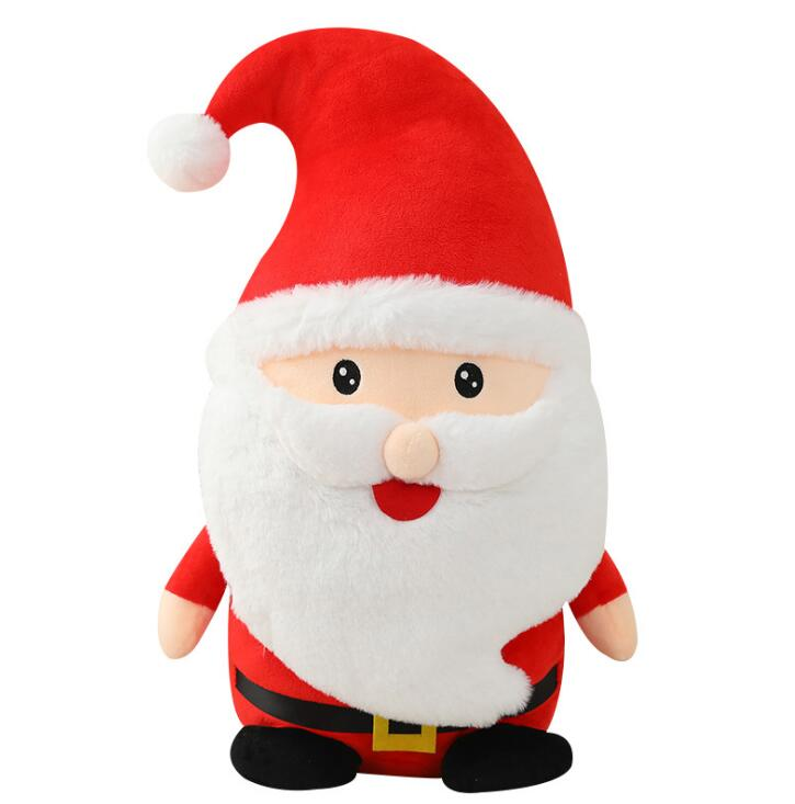Cute Santa Claus Plush Doll Toy Soft Filled Plush Animal Pillow Plush Doll Child Birthday Gift - SaturnLoop Shops Sales