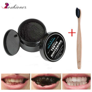 1 PCS Teeth Whitening Oral Care Charcoal Powder Natural Activated Charcoal Teeth Whitener Powder Oral Hygiene - SaturnLoop Shops Sales