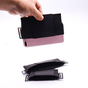 Portable Pouch Card Storage Bag Minimalist Invisible Wallet Organizer Holder Card Holder Wallet Passport Holder - SaturnLoop Shops Sales