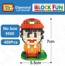 Load image into Gallery viewer, LOZ Captain Ozora Tsubasa Wakabayashi Genzo football Cartoon Building Diamond Blocks Figure Toy For Age 14+ - SaturnLoop Shops Sales
