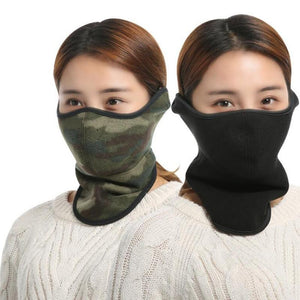 Oneoney 1pc Winter Warm Cycling Riding Mask Mouth Nose Ear Neck Protector Warmer Outdoor Cold Production Man Woman Office School - SaturnLoop Shops Sales