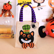Load image into Gallery viewer, Halloween Carrier Bag Pumpkin Ghost Pattern Bag Candy Gift Holder Shopping Bags - SaturnLoop Shops Sales