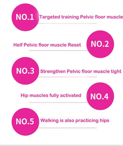 Fitness Equipment Hip Trainer Pelvic Floor Muscle Inner Thigh Buttocks Tight Supplie Beauty Training Pelvic Floor Muscle excise - SaturnLoop Shops Sales