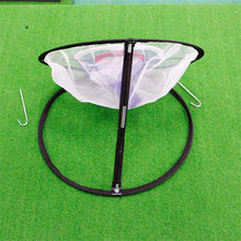 Load image into Gallery viewer, GOG Golf Pop UP Indoor Outdoor Chipping Pitching Cages Mats Practice Easy Net Golf Training Aids Metal + Net - SaturnLoop Shops Sales