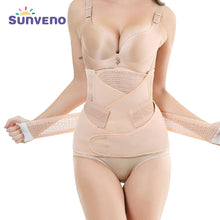 Load image into Gallery viewer, 3in1 Belly/Abdomen/Pelvis Postpartum Belt Body Recovery Shapewear Belly Slim Waist Cinchers Breathable Waist Trainer Corset - SaturnLoop Shops Sales