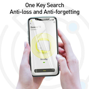 Baseus Wireless Smart Tracker Anti-lost Alarm Tracker Key Finder Child Bag Wallet Finder APP GPS Record Anti Lost Alarm Tag - SaturnLoop Shops Sales