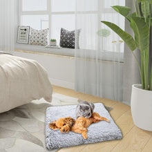 Load image into Gallery viewer, Plush Cat Bed House Cat Mat Net Red Cat Litter Plush Two-in-one Pet Mat Cat  Cat Winter Warm Dog House Sleeping - SaturnLoop Shops Sales